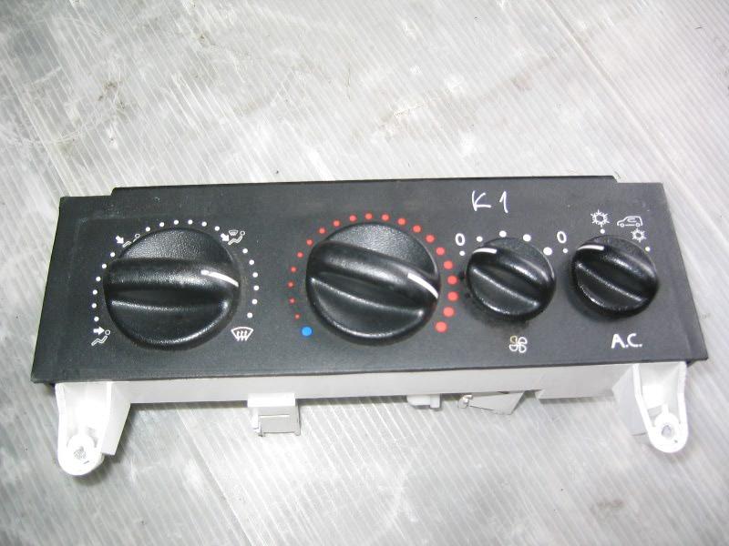 Kangoo  98- | ovládání topení pro AC