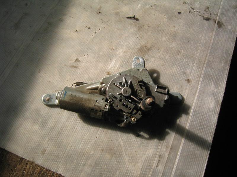 Kangoo  98- | motorek stěračů zadní
