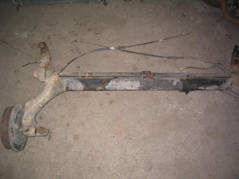 Kangoo  98- | náprava zadní