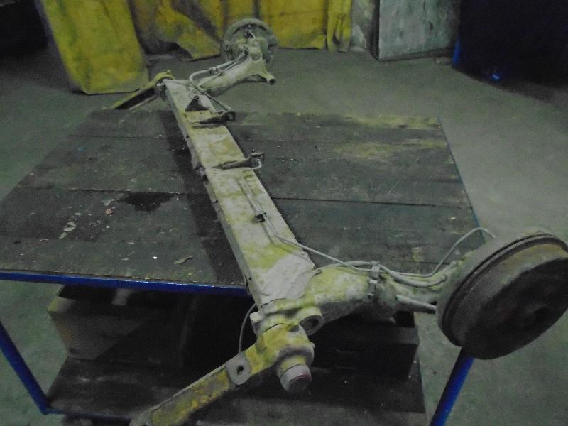 Megane I facelift 99-02 | zadní náprava +ABS kompletní