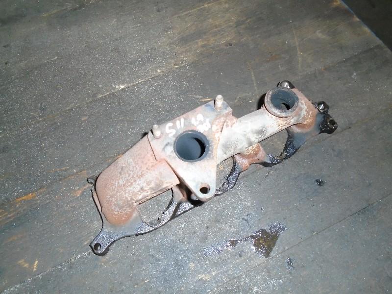 Scenic II  03-09 | sběrné výfukové potrubí pro 1,9dCi