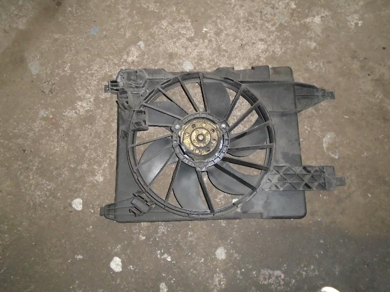 Scenic II  03-09 | ventilátor chladiče-sahara