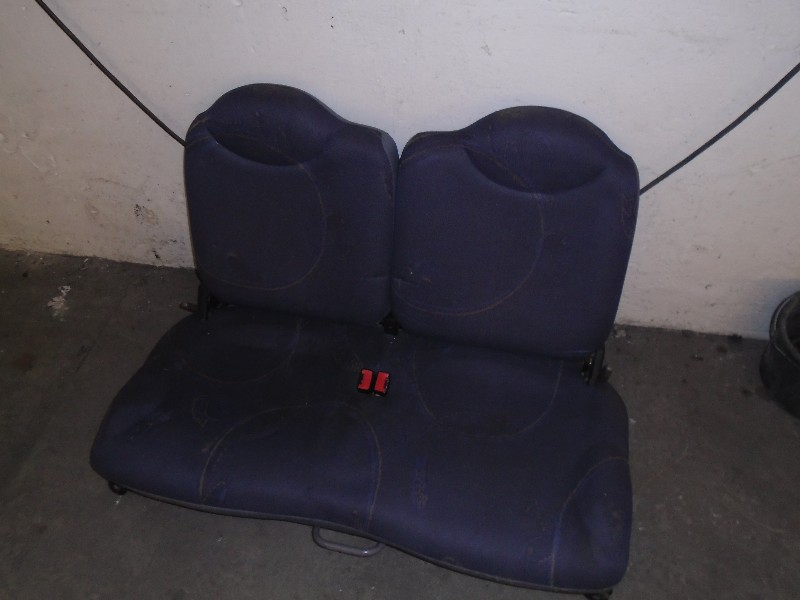 Twingo 92- | zadní sedák s opěradlem