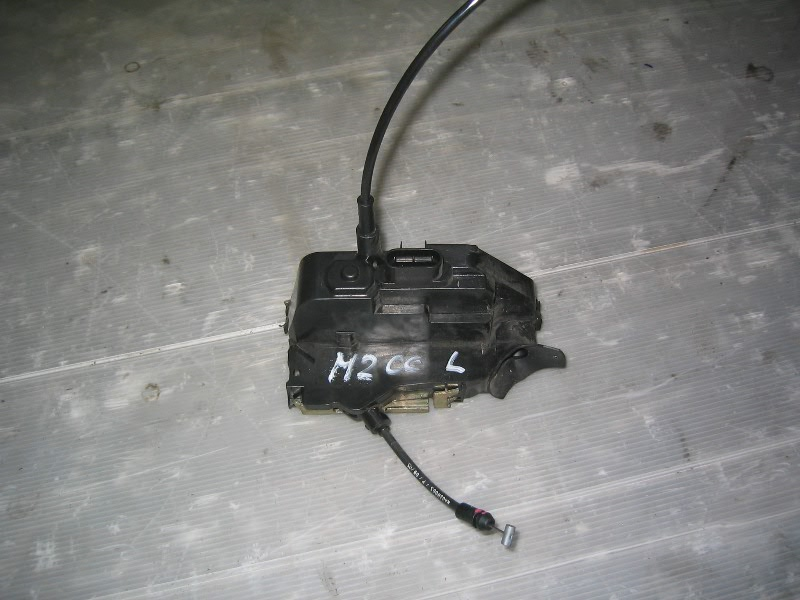Megane II CC coupe cabrio | mechanismus zámku L dveří