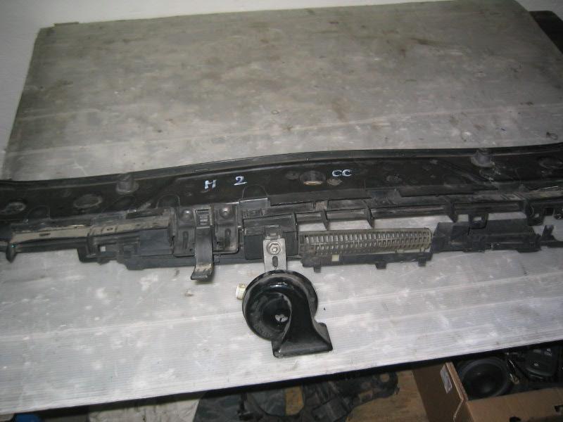 Megane II CC coupe cabrio | horní příčka předního čela