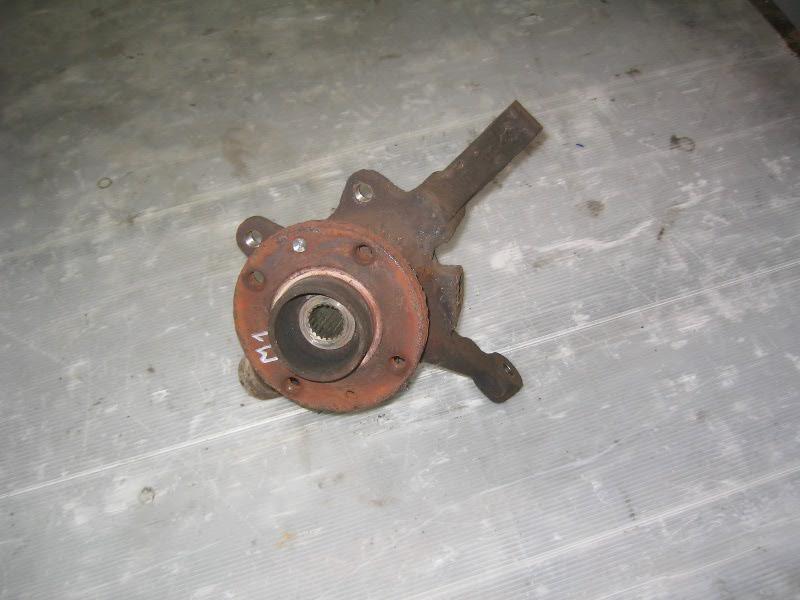 Megane I  96-99 | těhlice L pro ABS