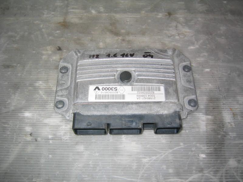 Megane II grandtour | řídící jednotka motoru K4M