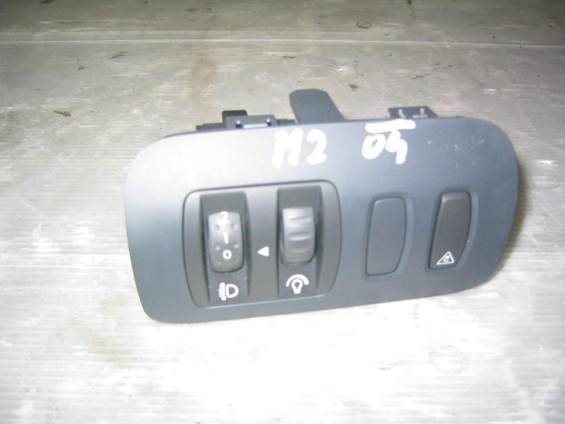Megane II grandtour | ovladače světel a podsvícení přístrojů