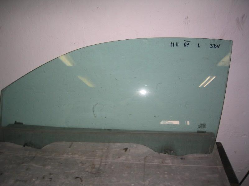 Megane II  02-08 | sklo L dveří pro 3dv. verzi