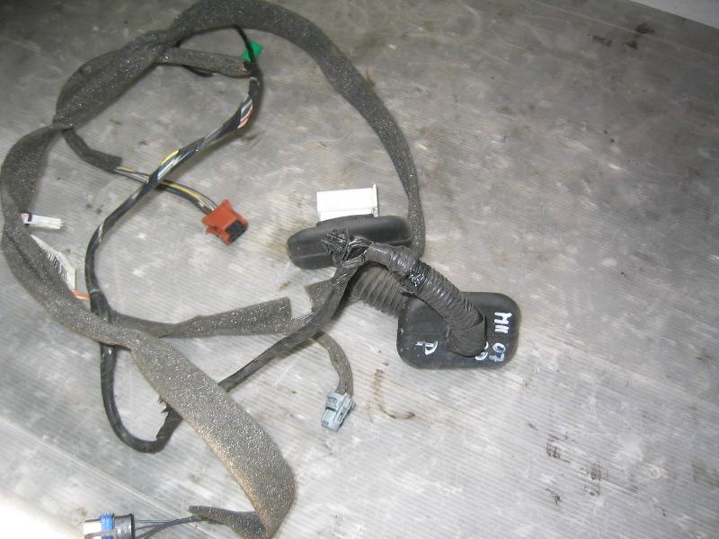 Megane II  02-08 | kabeláž dveří P pro 3dv verzi