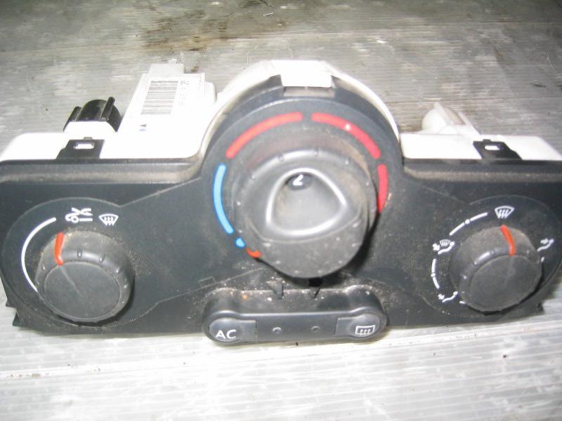 Megane II  02-08 | ovládání topení