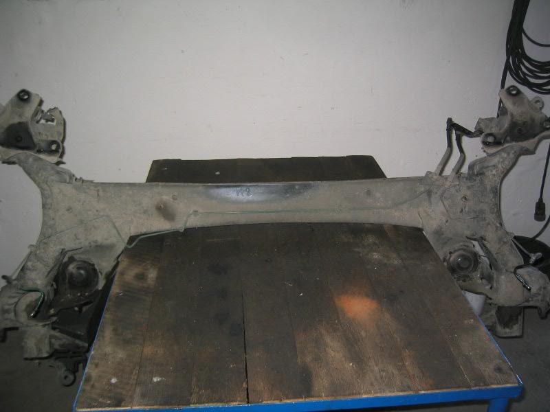 Megane II  02-08 | náprava zadní