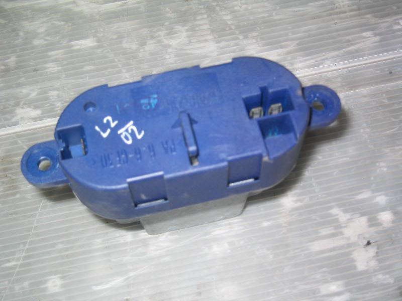 Laguna II  01-07 | odpor ventilátoru topení